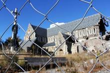 Christchurch cathedral earthquake